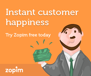 Instant Customer happiness with chat support